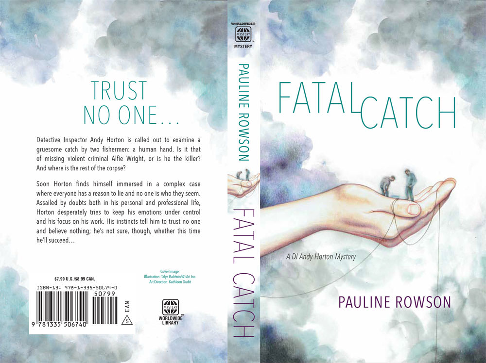 @Talya Baldwin illustration Fatal Catch