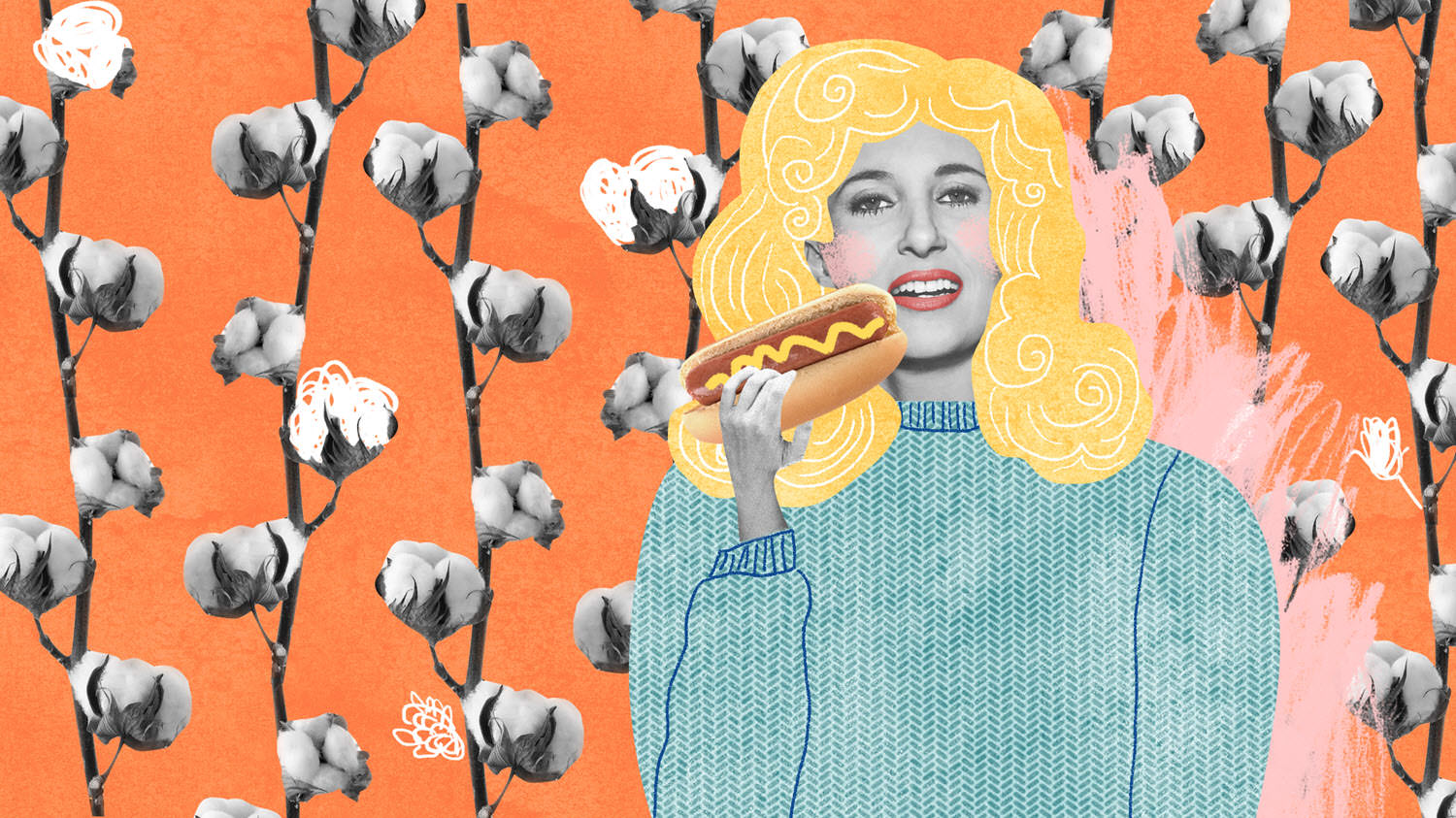 Tammy Wynette and her favourite food