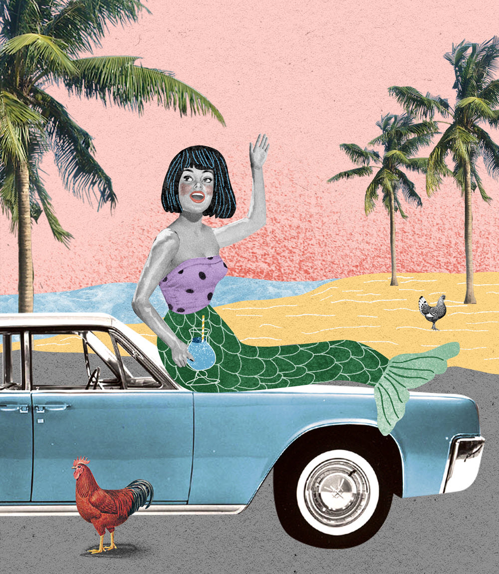 The Traveling Mermaid - NN379