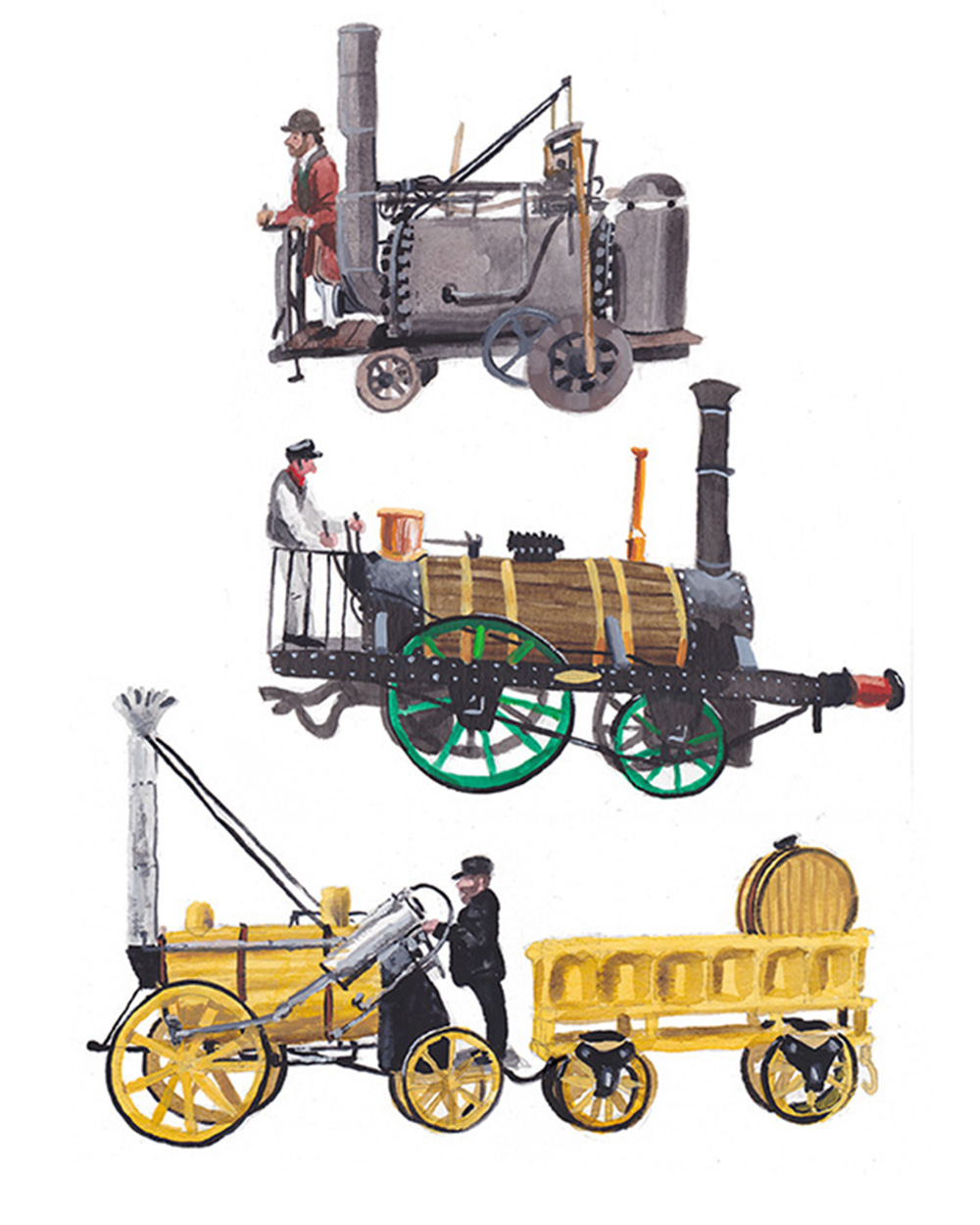 Steam Engines - DB215