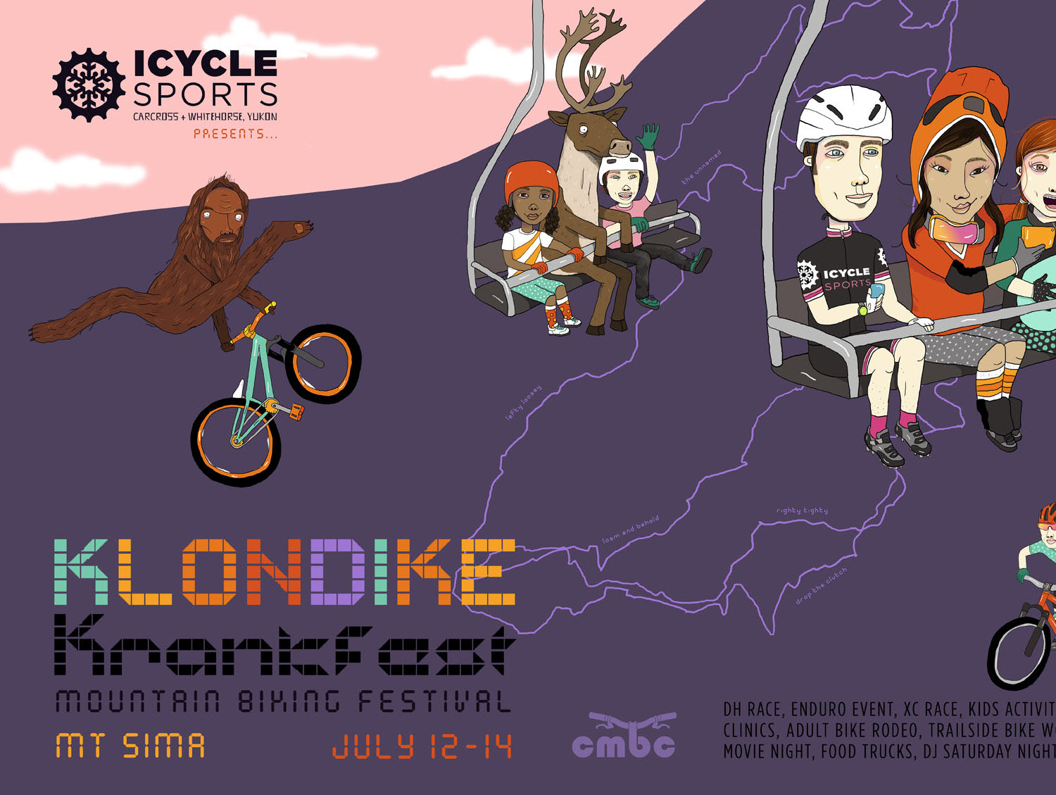 Illustration ©Monika Melnychuk for Klondike Kranfest