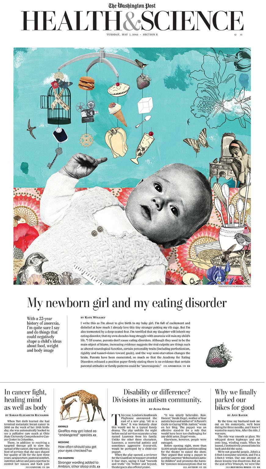 Tara Hardy illustrates for The Washington Post
