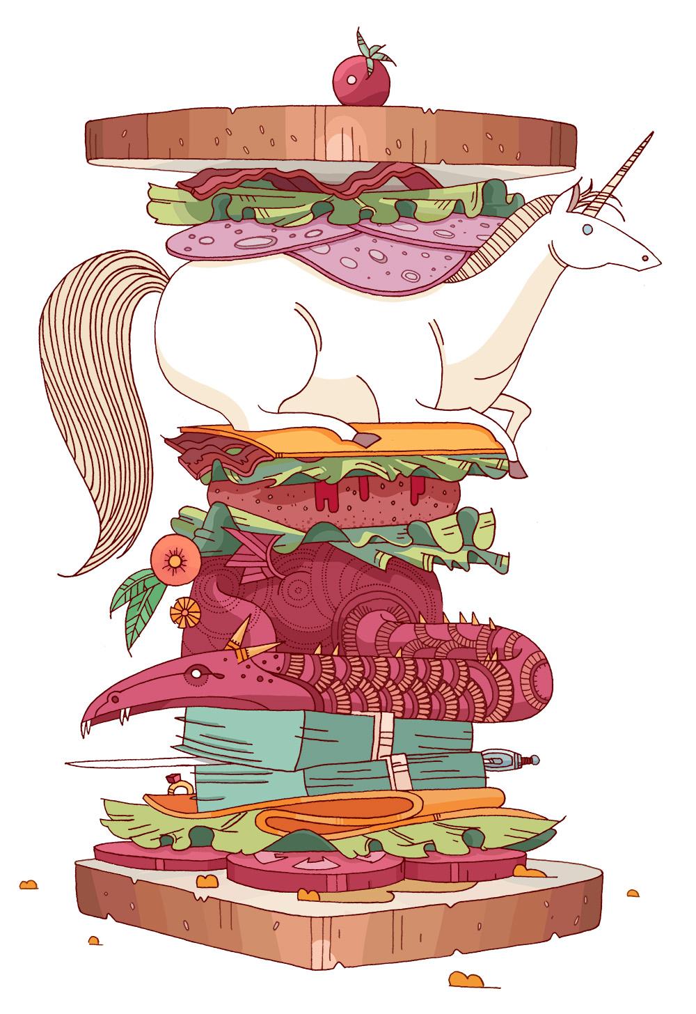 Diverse Sandwich - HM104