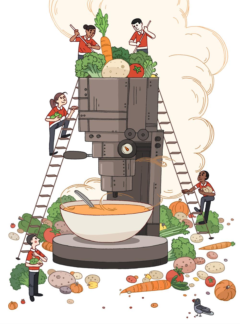 Soup Machine - HM111