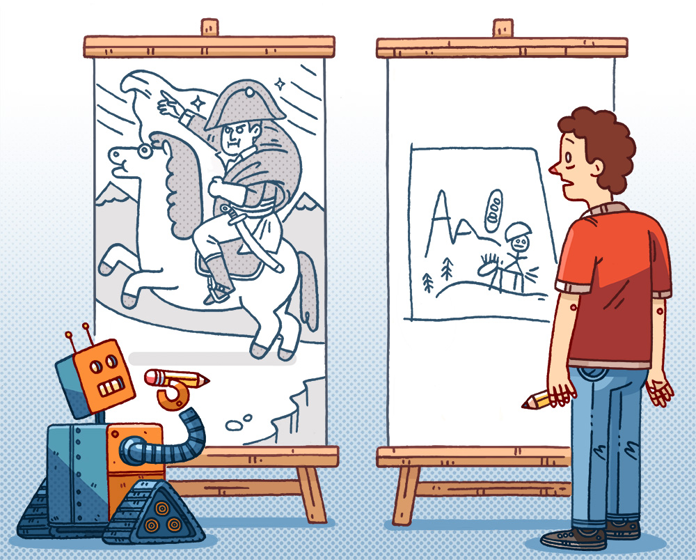 for an article about artificial intelligence in the  Seattle Met