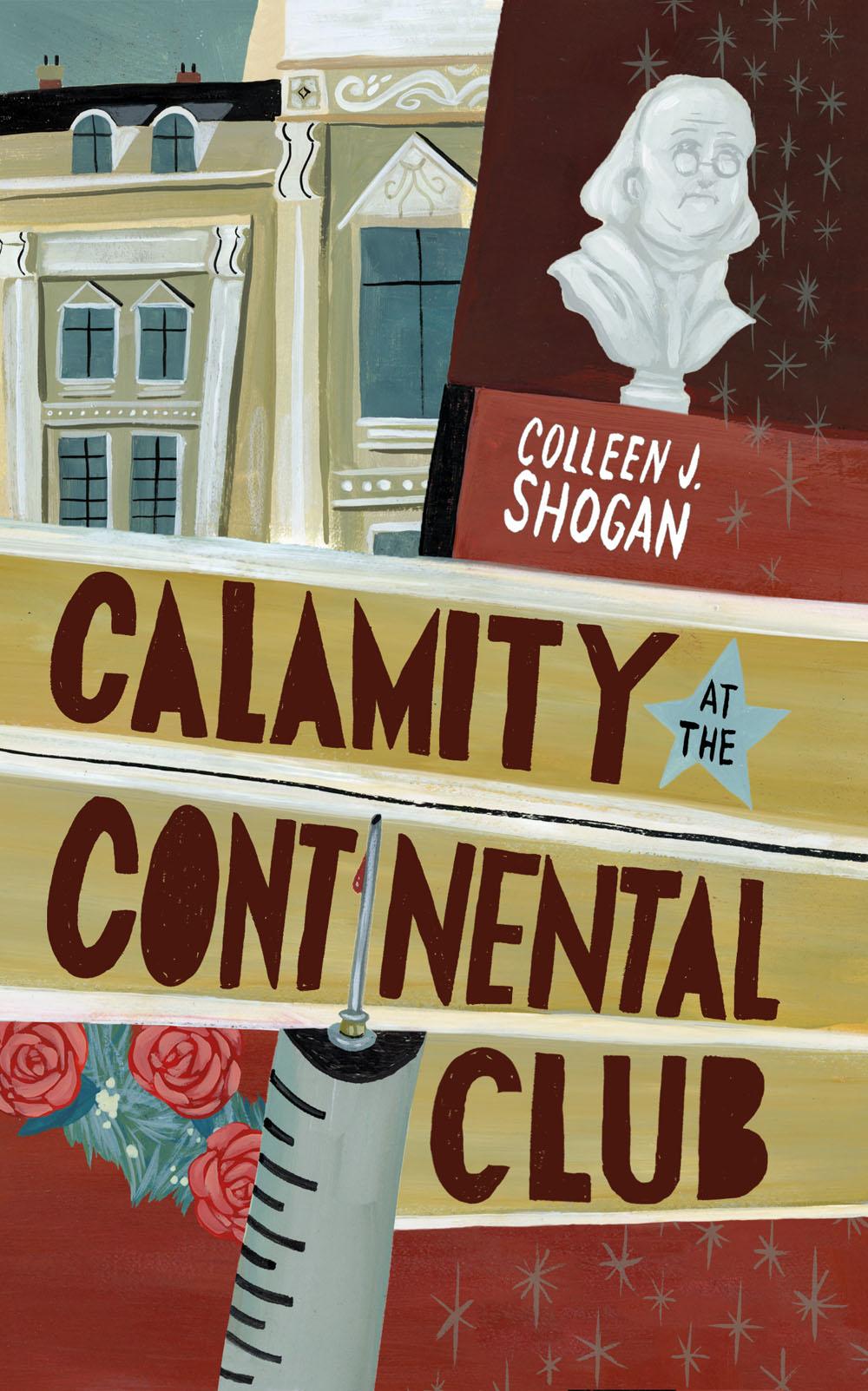 ©Mark Hoffmann illustration Calamity at the Continental Club