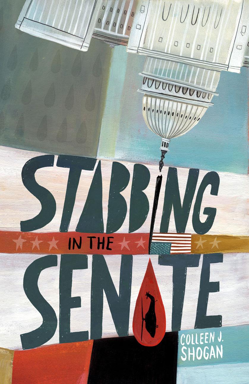 ©Mark Hoffmann illustration Stabbing in the Senate