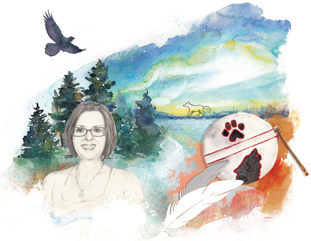 Portrait for the Ontario College of Teacher's magazine, Professionally Speaking