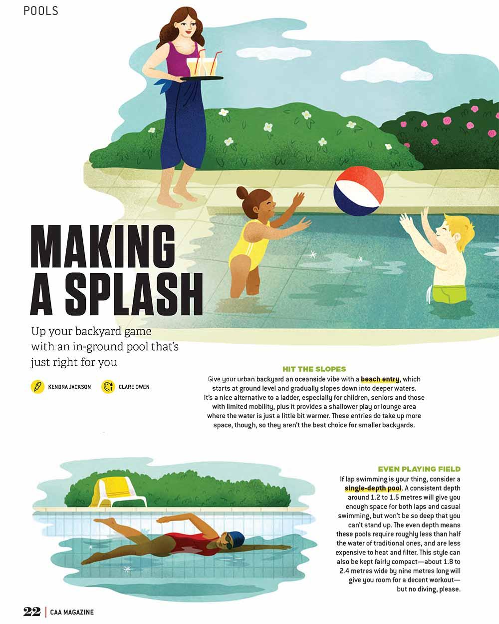 Making a Splash - CO537a