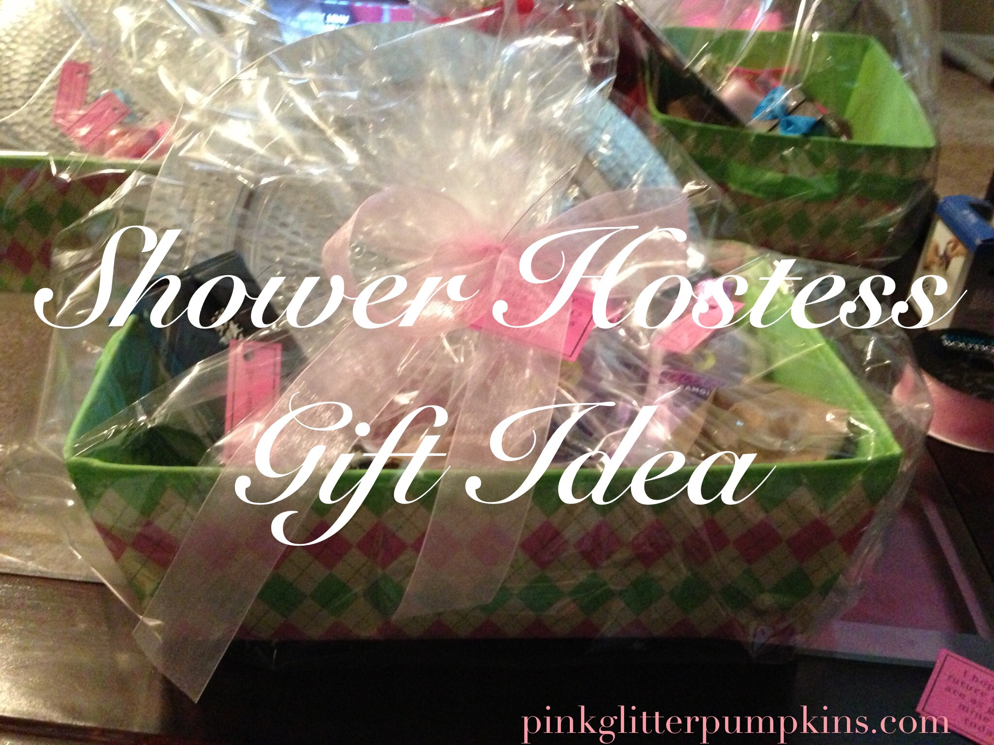 Shower Hostess Gift Idea — Pink