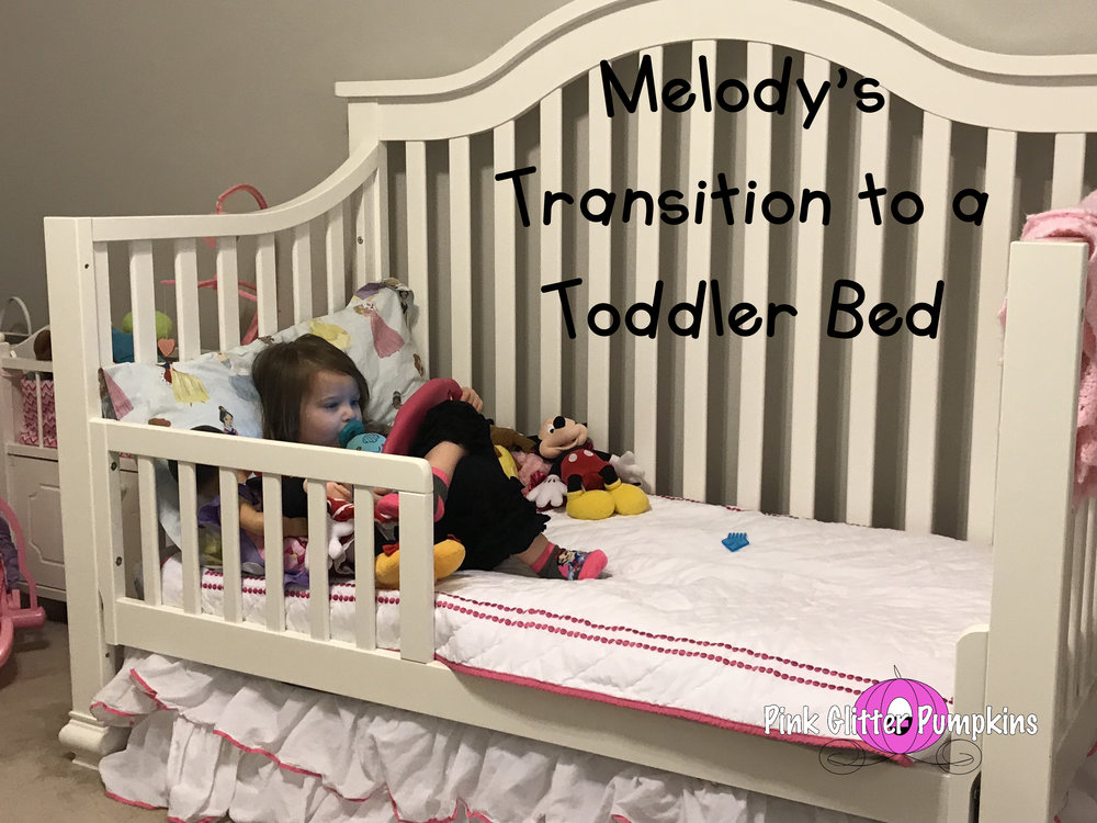Melody S Transition To A Toddler Bed, When To Switch From Crib Bed