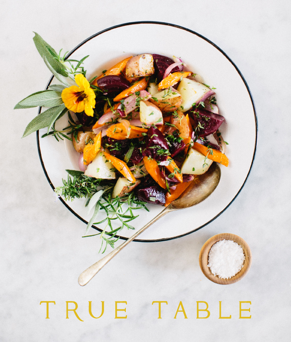 True Table BRANDING | COLLATERAL