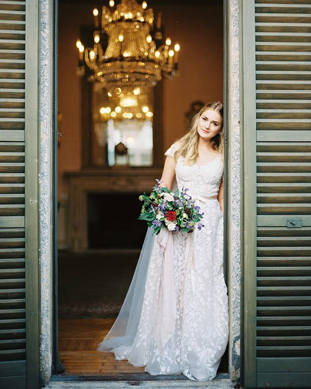 Gorgeous @nastinhavienna with my #weddingmakeupandhair 💗  #bymalino #weddingcomo  MUAH @malinobeauty  Photographer @irena_balashko Organization @fairy_italy Floristry&decor @fiorigraphia Dress @solomiabridal