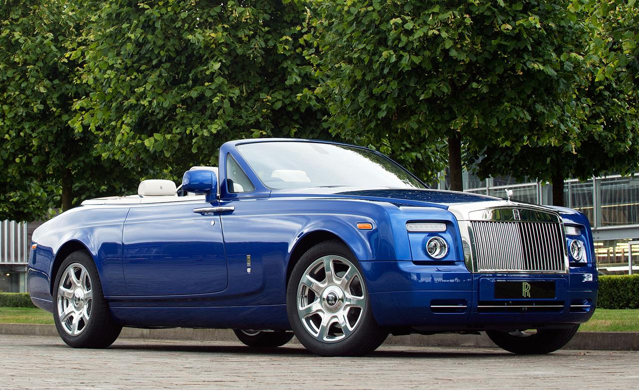 2015 Rolls Royce Phantom Drophead Coupe Waterspeed