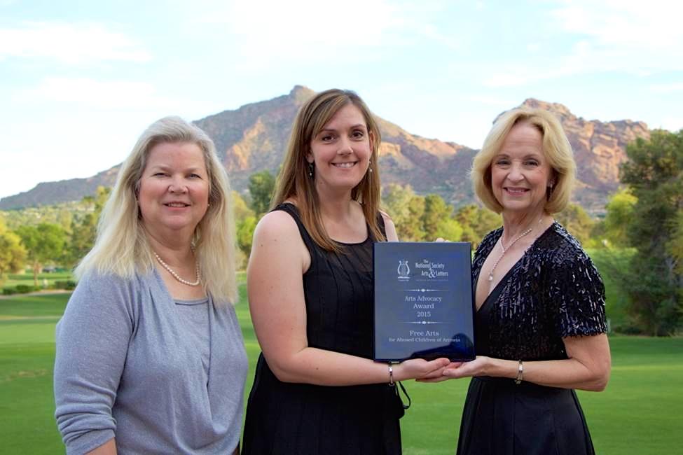 Free Arts Arizona with NSAL-AZ President, Christy Welty