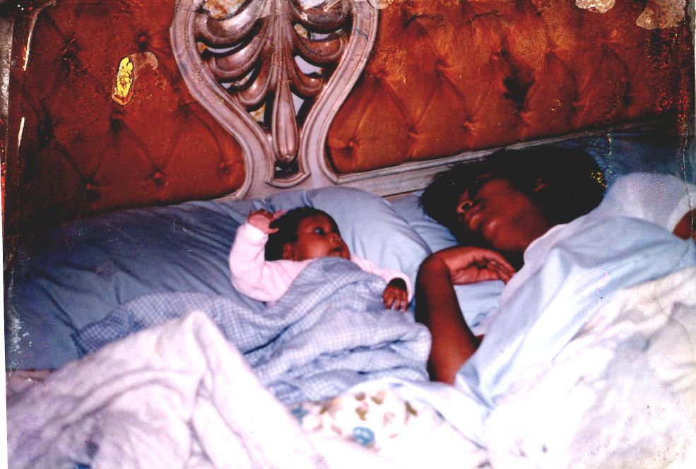 In Picture: Princess (Sister), Tobica (Mom) // Photog:  Ron Sr (Dad)