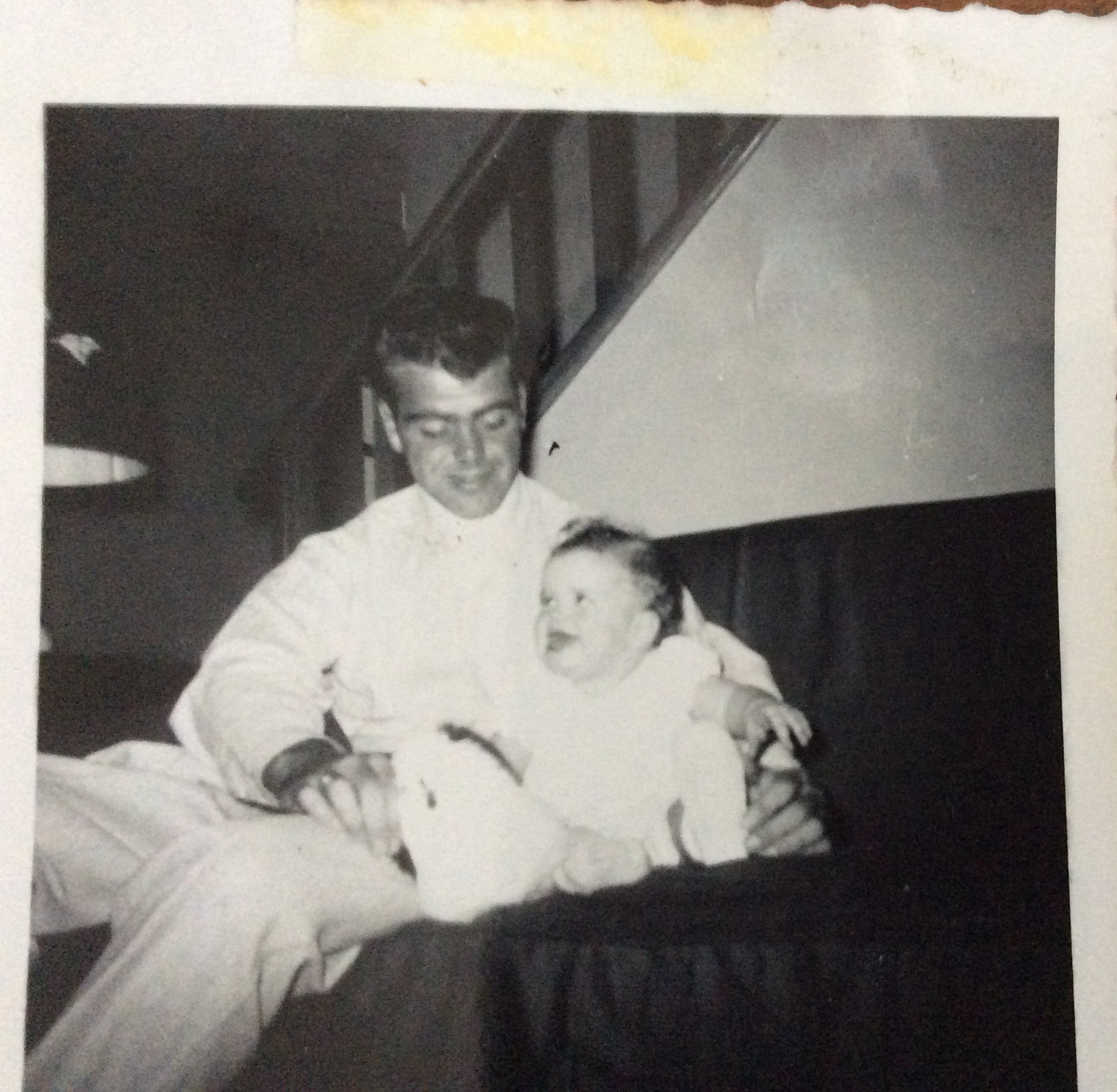 In Picture: Sue (MiL), Grand Uncle Bill