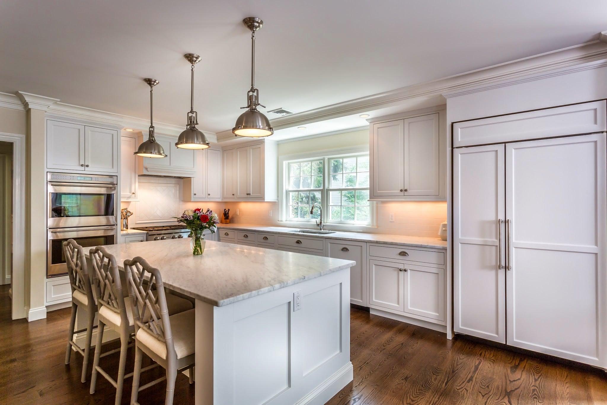 Kitchen Island for Darien CT Renovations