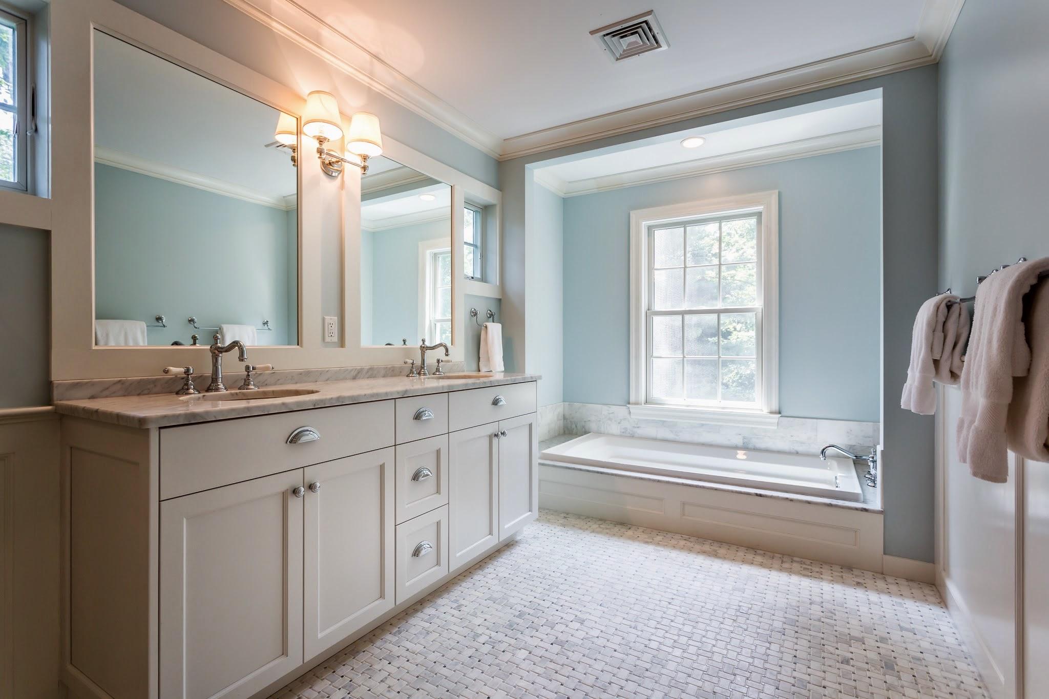 Master Bathroom, Darien-CT