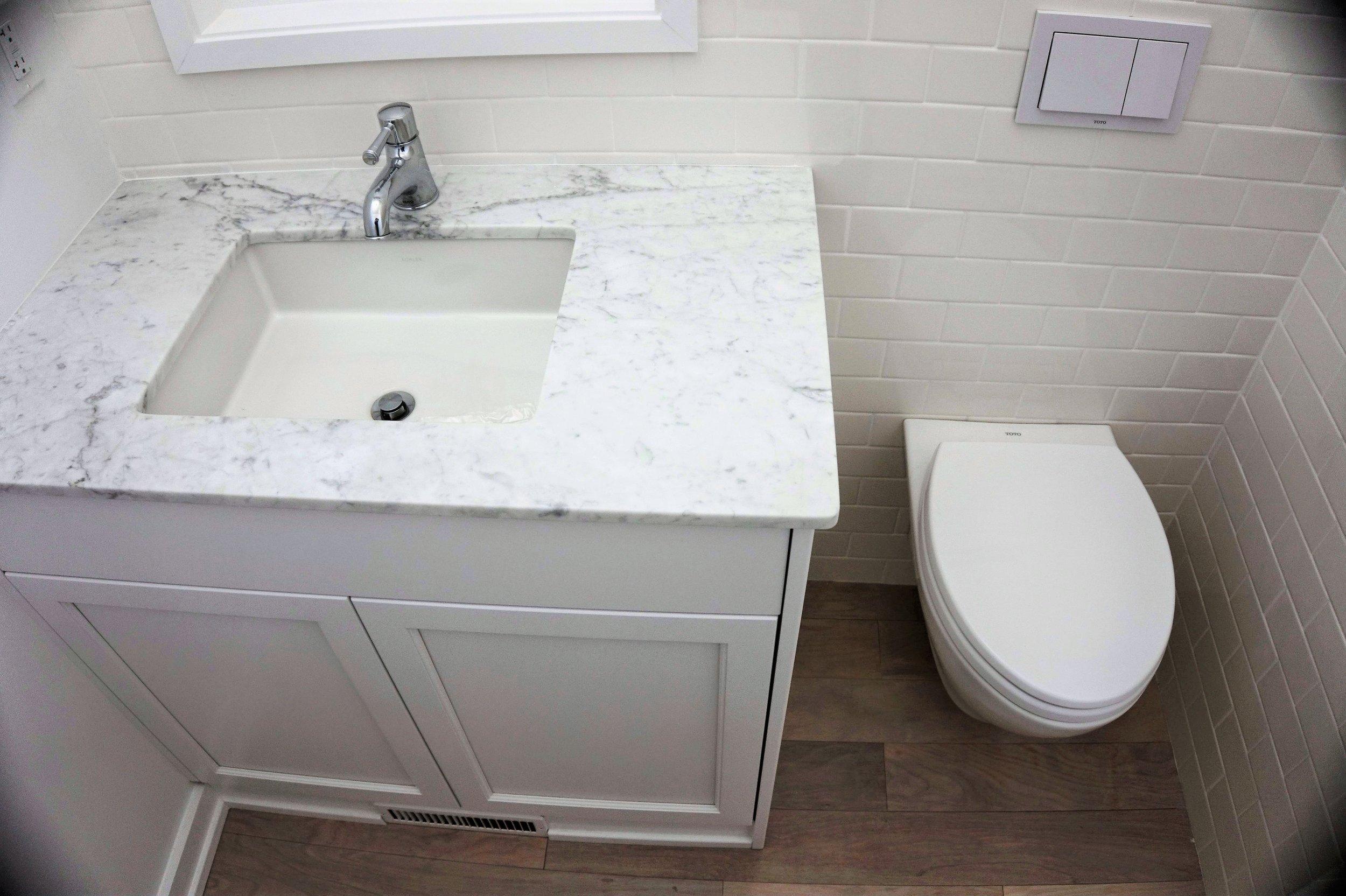 Koala Residential --Wall Hung Toilet space saver