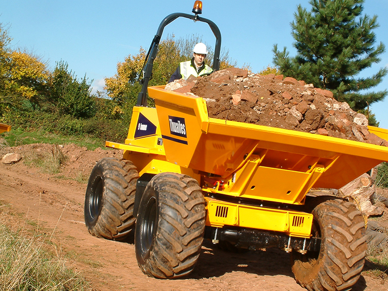 9 tonne power swivel dumper