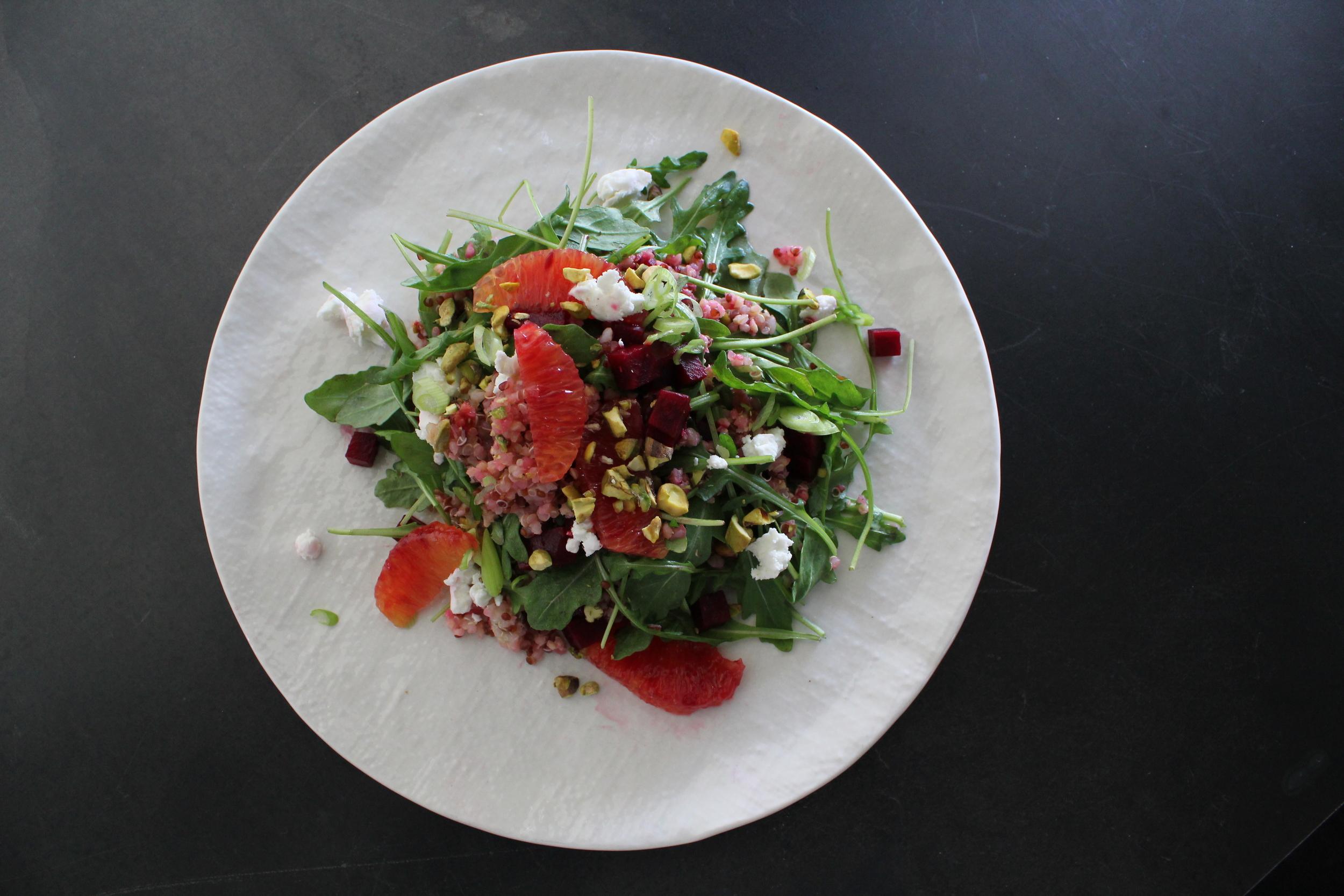 Blood orange & quinoa Salad