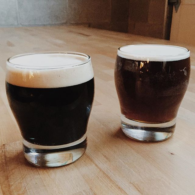 WHISKEY RED + WHISKEY STOUT both on  nitro tap at our tasting room.