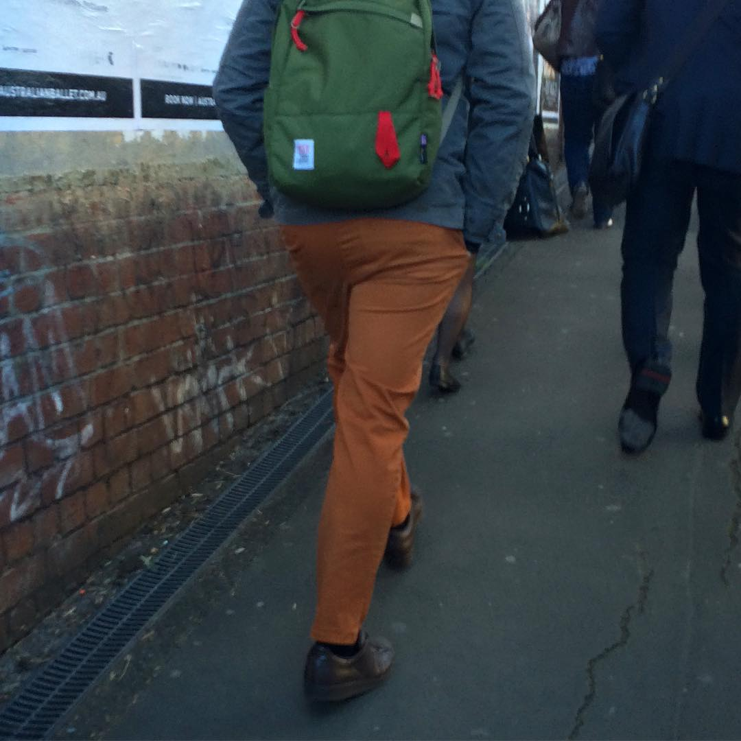 Cool backpacks all around town! #fashiontraining #melbourne #getcreative