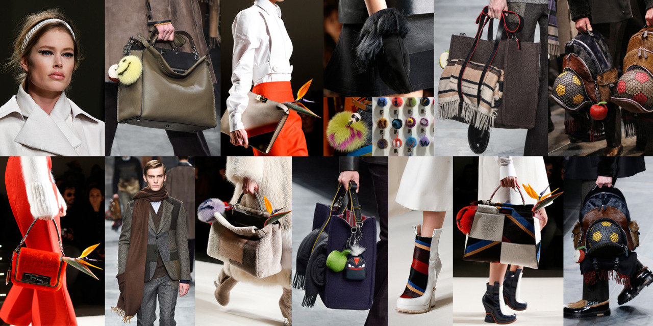Fendi Fall accessories 2015, our fave!!  www.lauralana.com.au