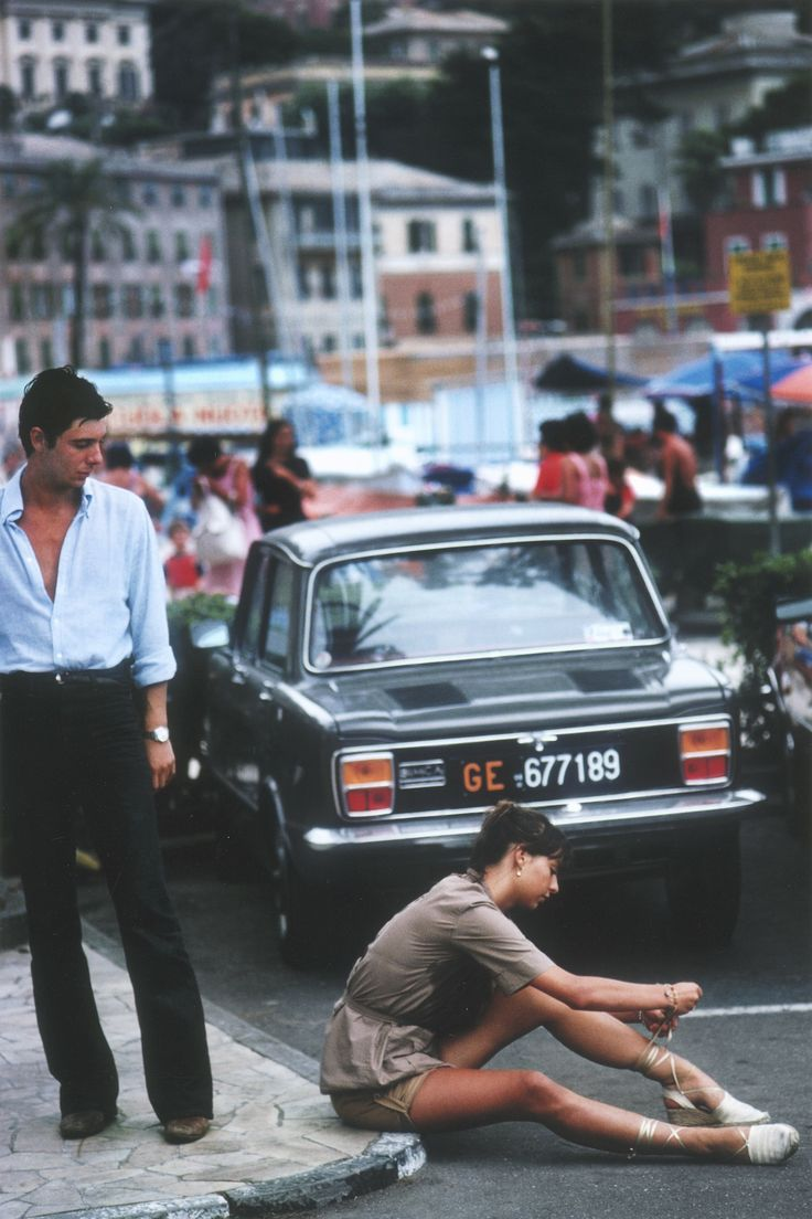 jointhereformation :   Portofino, Italy. 1977, photo Slim Aarons