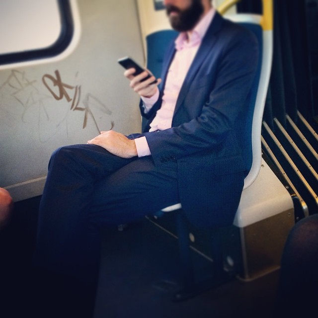 #fashiontraining #melbourne.   love a stylish suit and a beard!
