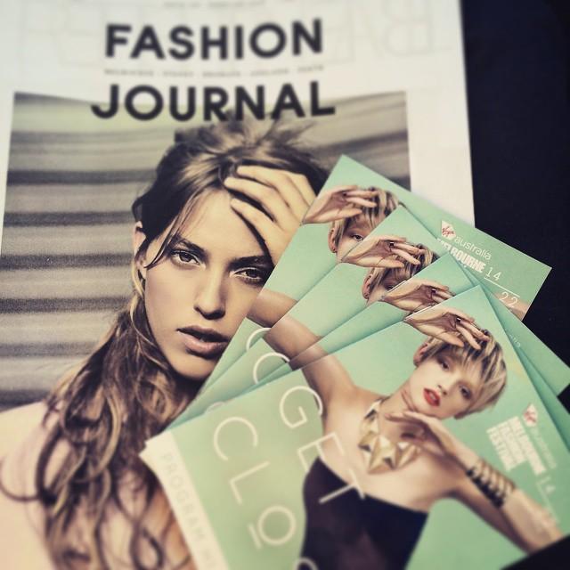 I love Melbourne! #VAMFF @fashionjournalmagazine