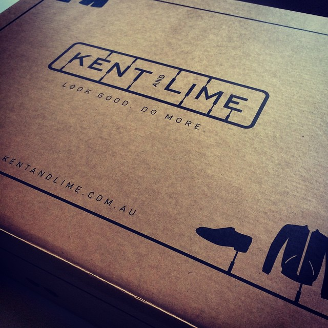 @kentandlime package has arrived for the hubby today. A great way for men to get styling who just don't have the time.  www.kentandlime.com.au