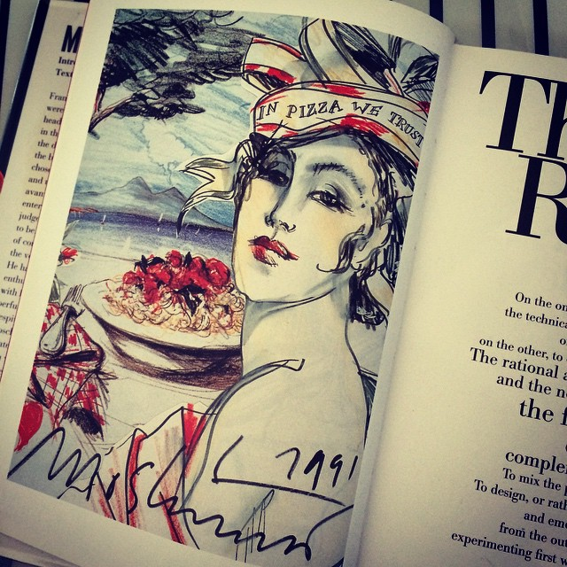 I love my old fashion books! Moschino, published 1997 #getcreative