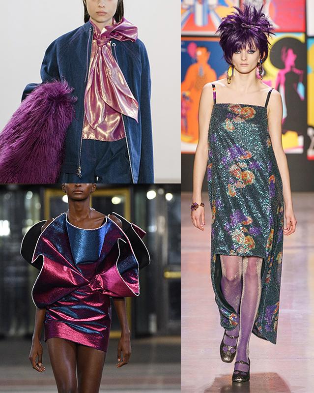 Purple Haze: Claudia Li, Area, Ann Sui