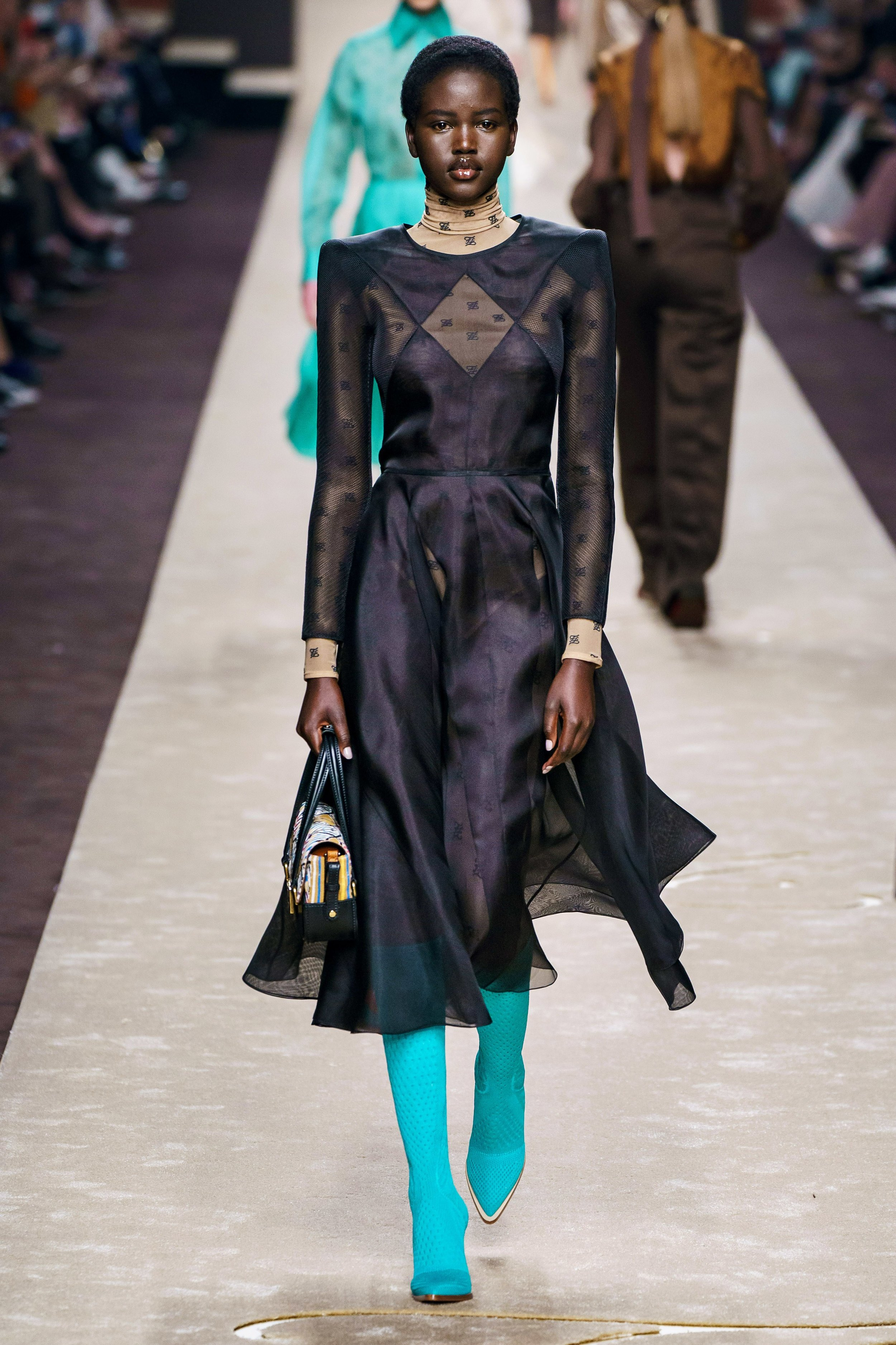 FENDI mourns - It has to be said;Karl Largerfeld's impression left upon the Italian house of Fendi is certainly impressing.