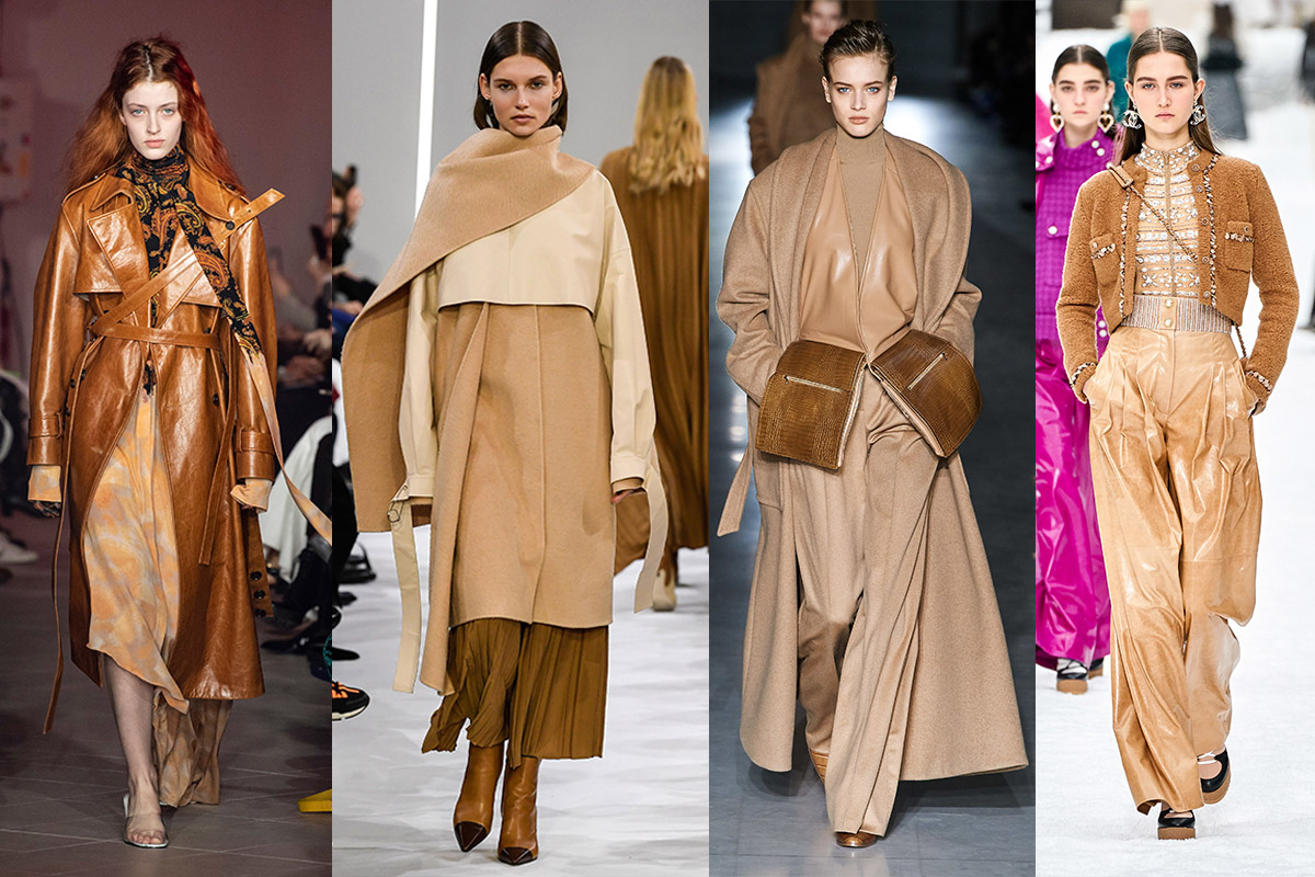 SHADES OF BROWN & BEIGE -  Rohk, Giada, Max Mara, Chanel