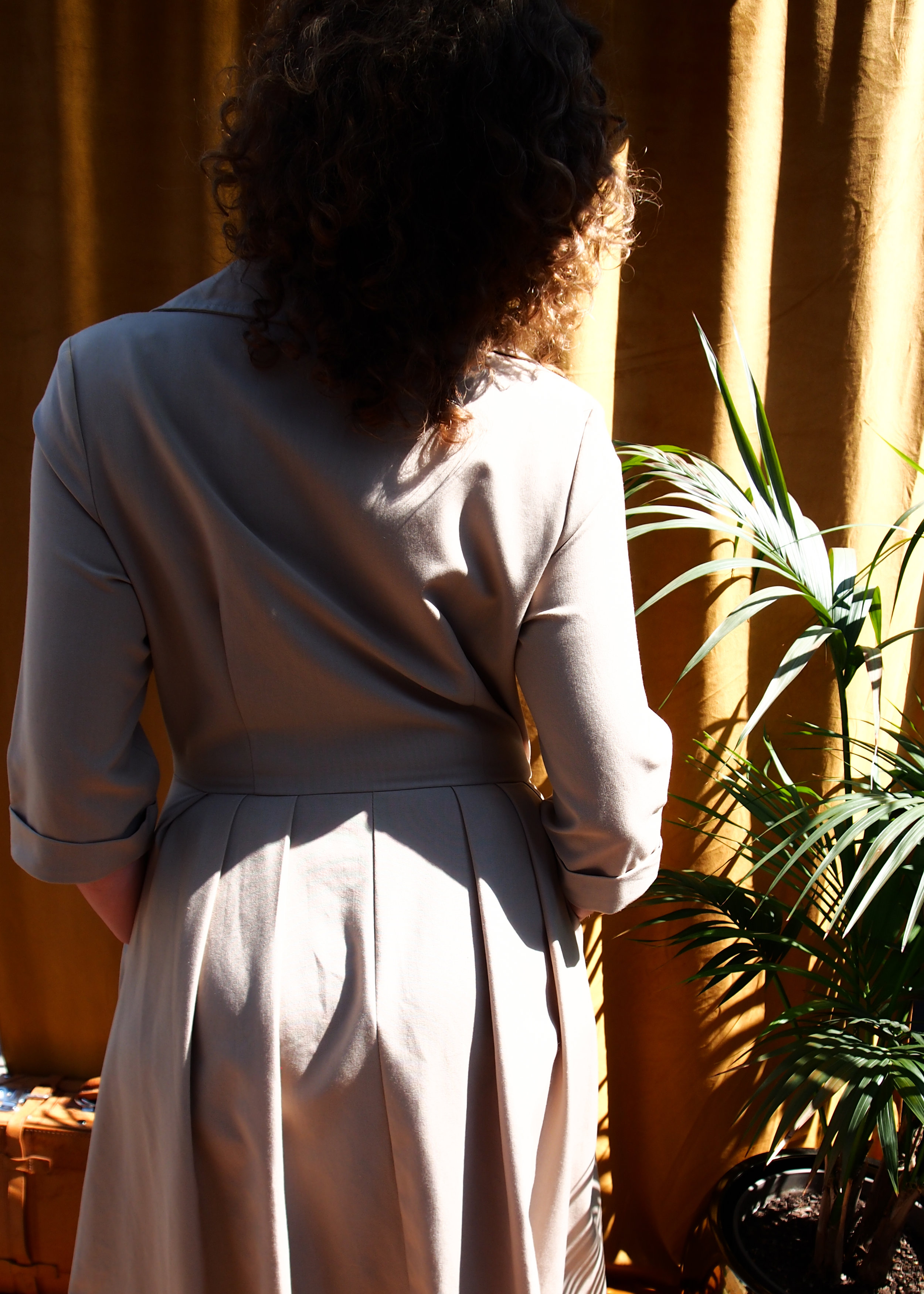 Vintage - When in doubt, just buy vintage. Your city is dotted with Op shops and secondhand stores full of preloved items that could use a second life. Don't waste it, wear it. Check out our Vintage Wardrobe.www.lauralana.com.au