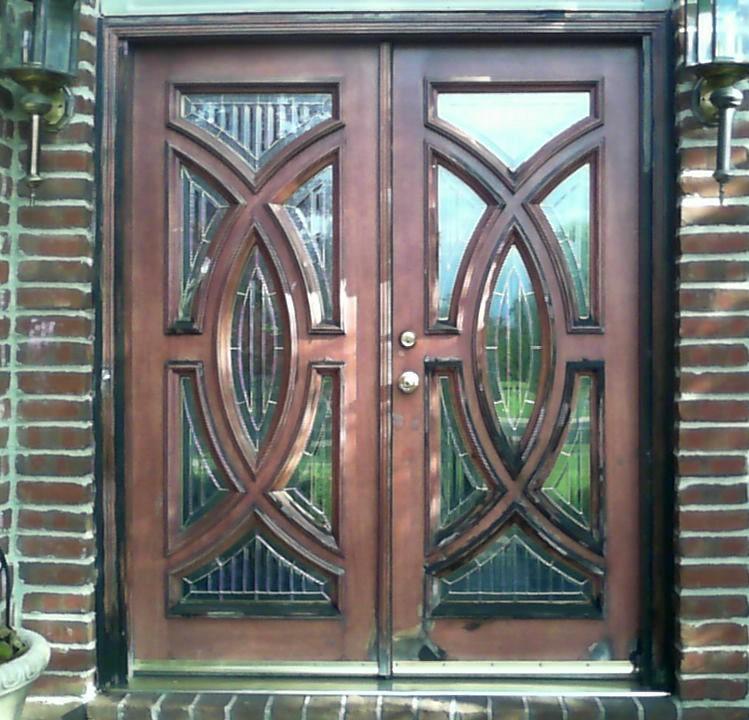 front-door-wood-wooden-restaining-old-restore-refinish-renew
