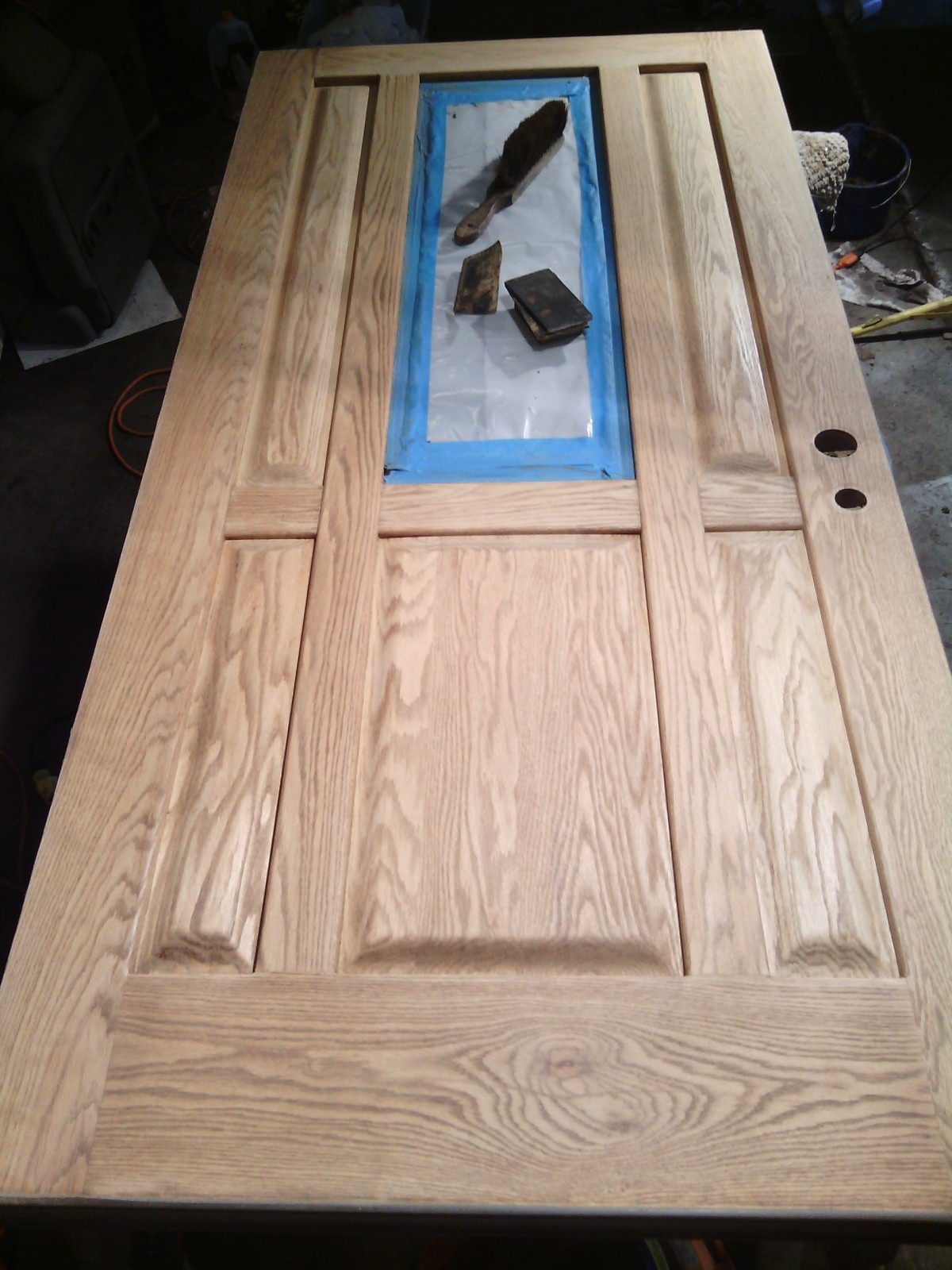Faded-door-refinishing-restoration-renew-replace