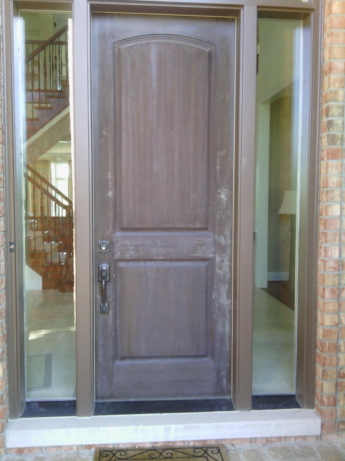 exterior-door-wood-wooden-refinish-refinishing-weathered