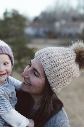 For her, - the Ridge Hat in Oatmeal.