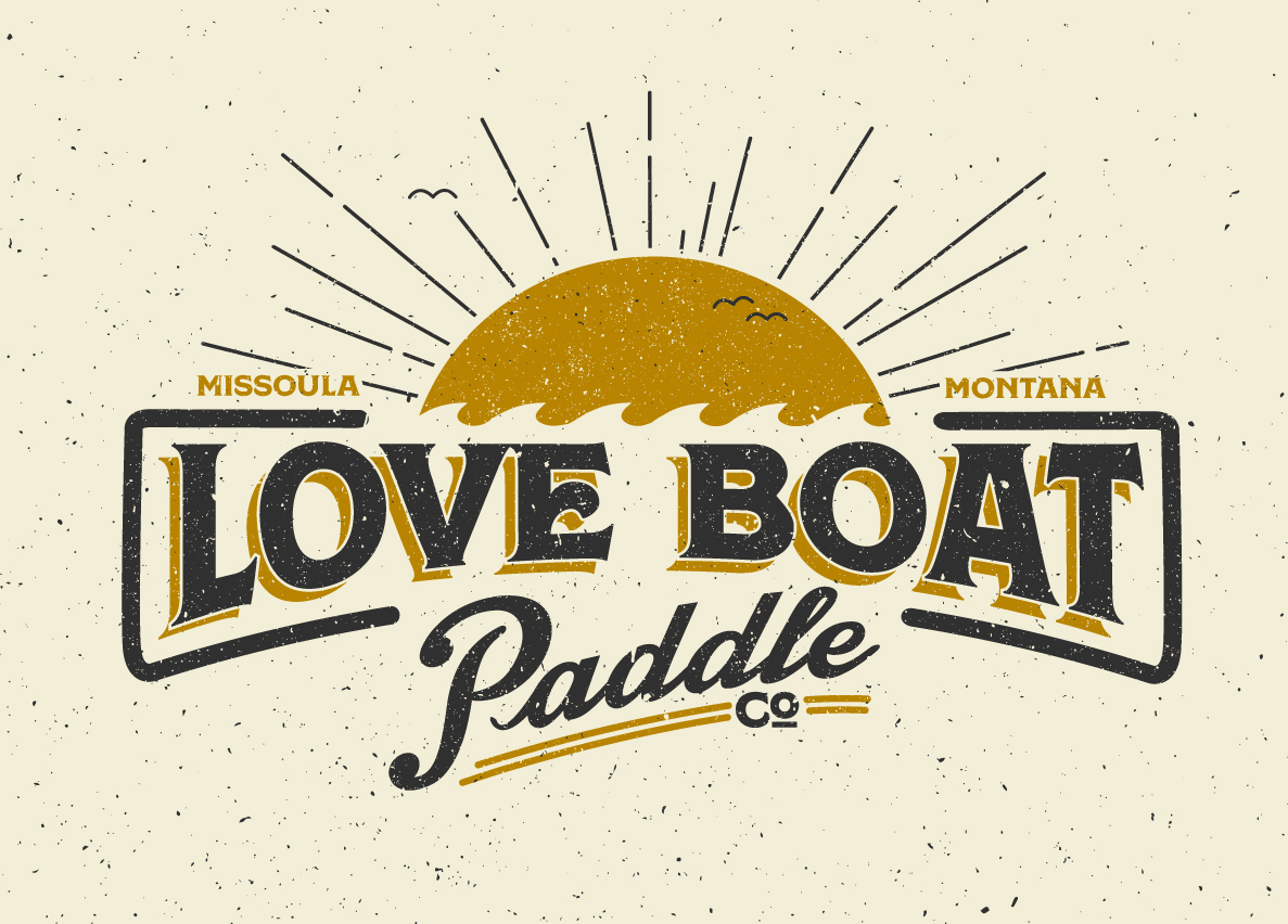 Love Boat Logo Design