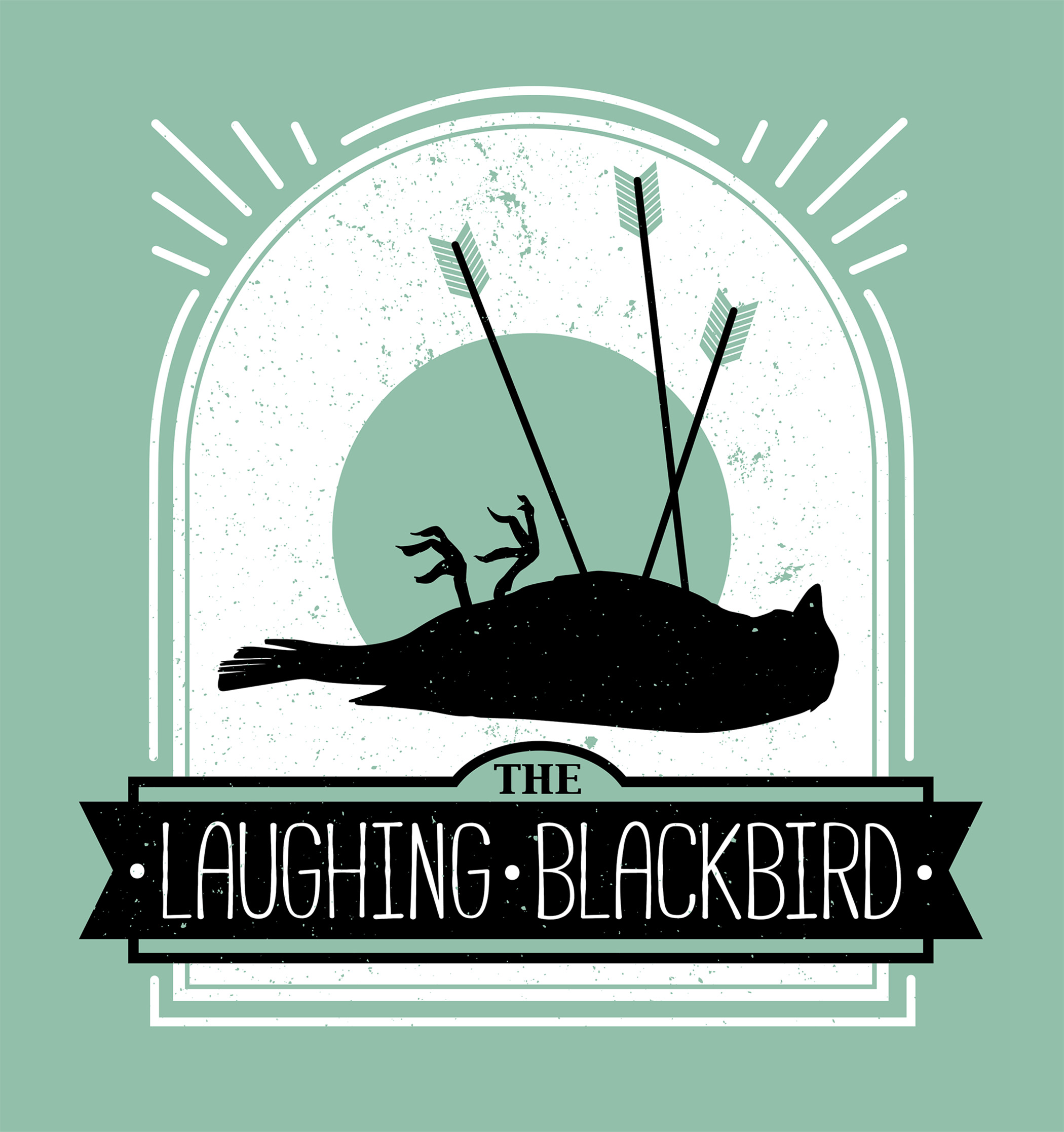 The Laughing Blackbird Logo Design