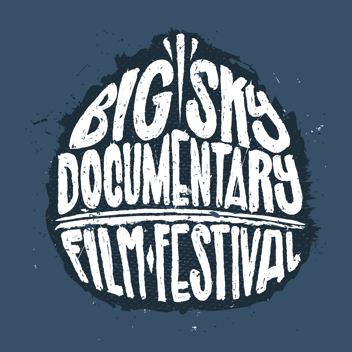 Big Sky Documentary Film Festival Shirt Design