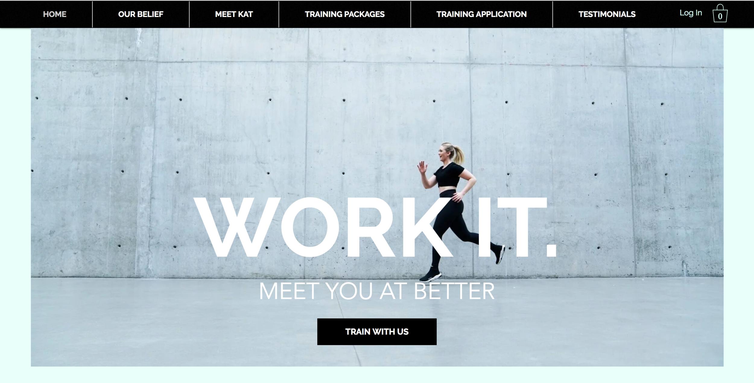 WORK IT Fitness Website! https://www.workitfitness.co/