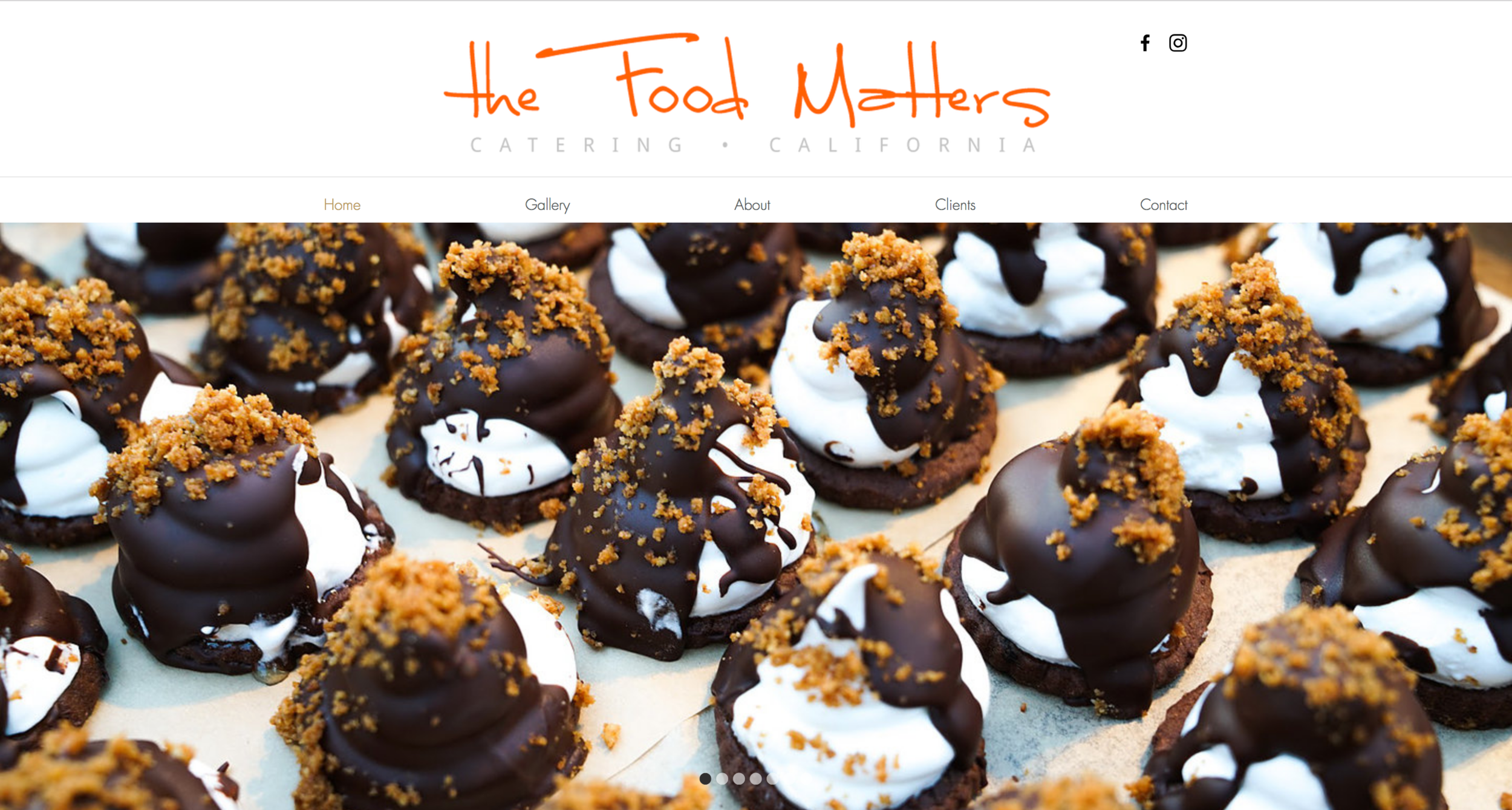 The Food Matters Catering Company Website https://www.thefoodmatters.com/
