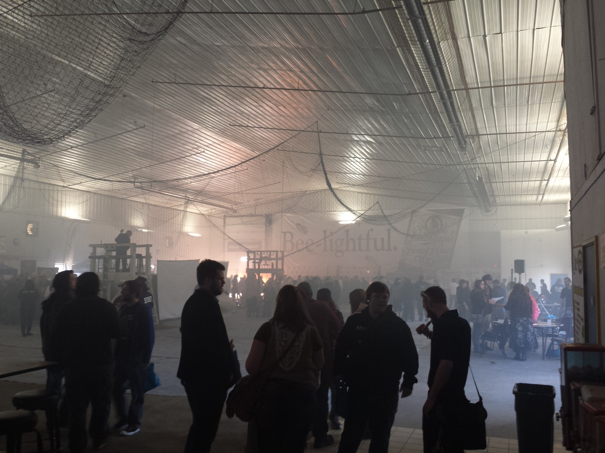 20 Minutes into the Vaping Convention.