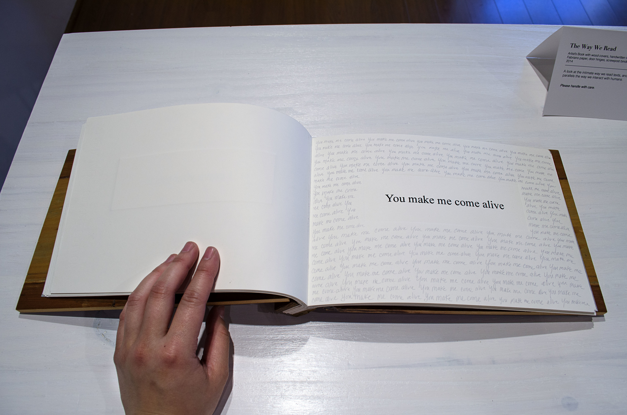 The Way We Read