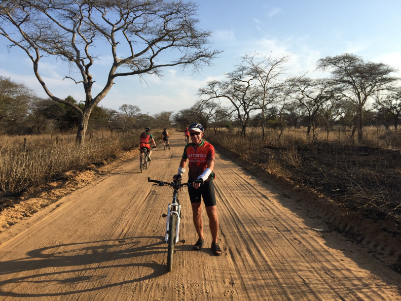 It was the dry season in Zambia and the roads were packed dirt, dusty and sometimes sandy.